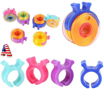 80pc Sewing Thread Bobbin Holder Clamp Clips Bobbin Buddies Great For Embroidery