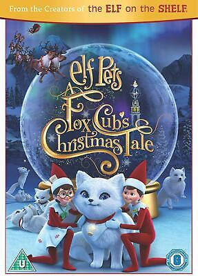 Elf Pets DVD A Fox Cubs Christmas Tale Format PAL Language English Multicolour