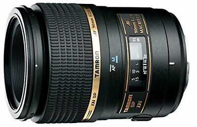 Tamron Single Focus Macro Lens Sp Af90Mm F2.8 Di 1 For Nikon Full Size Support