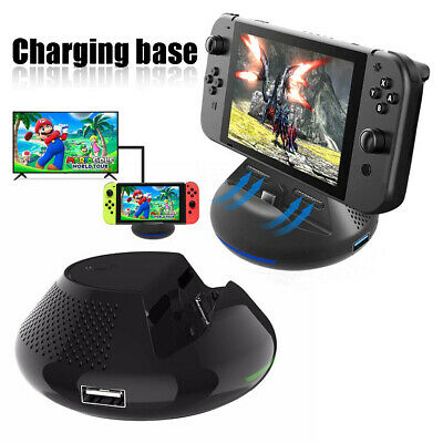 Portable TV Dock Converter HDMI Charger Base Station fr Nintendo Switch sale!