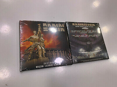Rammstein 2 Cd Live In Moscow 29/07/2019 Sealed