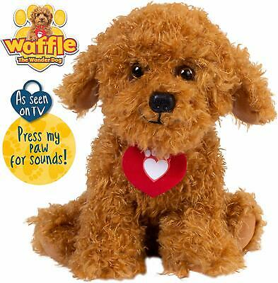Waffle the Wonder Dog Soft Toy with Sounds As Seen on TV
