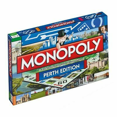 Winning Moves Monopoly Perth Edition Board Game