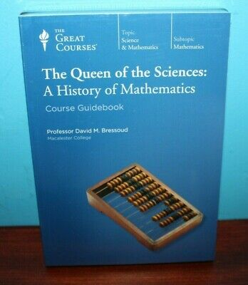 Great Courses The Queen Of The Sciences A History Of Mathematics Book & Dvd