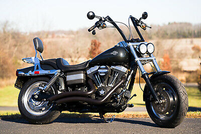 """2008 Harley-Davidson Dyna  2008 Harley-Davidson Dyna Fatbob Fat Bob FXDF 96""""/6-Speed Thousands in Extras!!"""