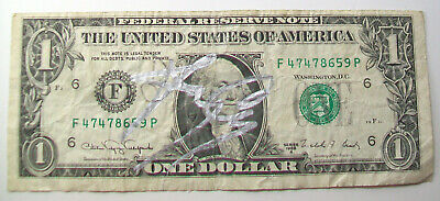 Jerry Only Autographed Dollar Bill Misfits Bassist Musician