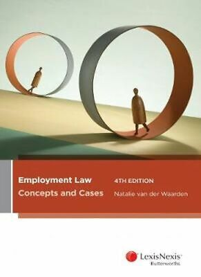 NEW Employment Law By Natalie van der Waarden Paperback Free Shipping