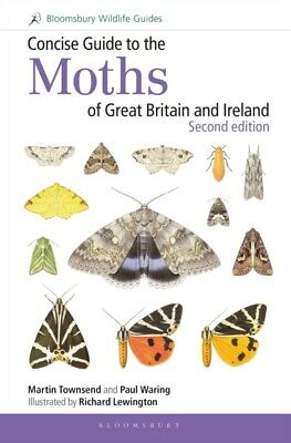 CONCISE GUIDE TO THE MOTHS OF GB & IRE, Townsend, Martin, Waring,...