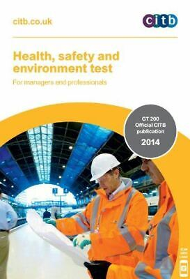 CITB, Health, Safety & Environment Test for Managers & Professionals: GT200/14,