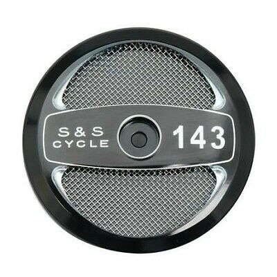 "S&S Cycle Stealth Air Cleaner 143"" Displacement Cover - 170-0323"