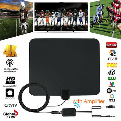 Antenna TV HD antenna TV DVB-T TV 110 miglia di gamma Antenna interna