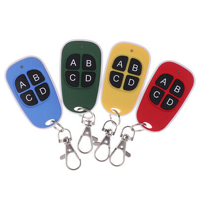 Universal Cloning Electric Gate Garage Door Remote Control Key Fob 433mhz Clo`