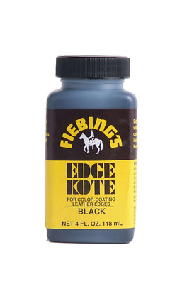 Fiebings Edge Kote 4oz (118ml) - all colors