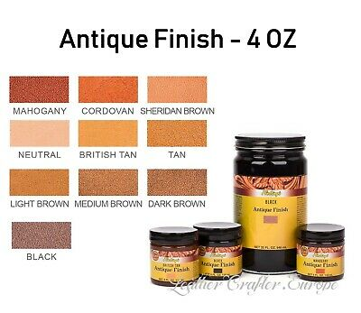 Fiebings Antique Finish 4oz (118ml) - all colors