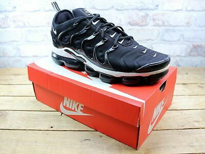 Mens Nike Air Vapormax Plus Black Fitness Sport Active Sneakers Trainers Size 12