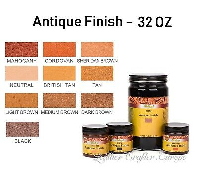 Fiebings Antique Finish 32oz (946ml) - all colors