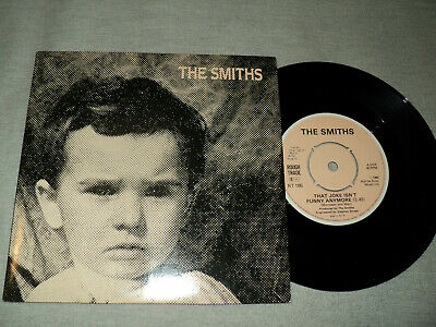 """THE SMITHS / That joke isn't funny anymore - Meat is murder (1985) 7"""""""