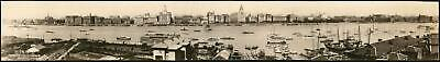 1929 Large Format Photographic View of the Shanghai Bund