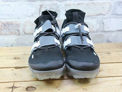Mens Nike Air Vapormax Fk Utility Flyknit Black Toggle Trainers Size 8.5 Faded
