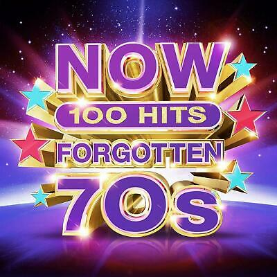 NOW 100 HITS FORGOTTEN 70s 5 CD - Various Artists (Released November 29th 2019)