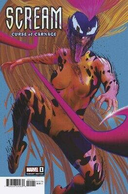 Scream Curse Of Carnage #1 1:25 Sullo Variant Marvel Mcleod Chapman 112719
