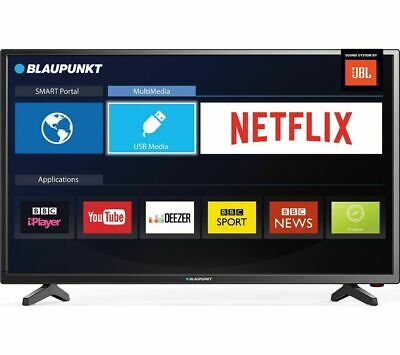 "AMAZING TV BLAUPUNKT 32/138MXN 32"" Smart LED TV freeview HD wifi A+ New UK"