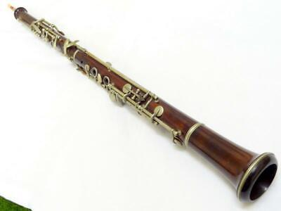Antique J.T.L. WOODEN OBOE JEROME THIBOUVILLE-LAMY QUALITY WOODWIND INSTRUMENT
