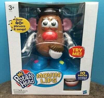 Mr Potato Head  Movin' Lips  Hasbro / Playskool  New & Sealed