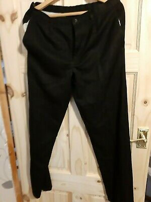 Marks And Spencer Black School Trousers Age 15 Years
