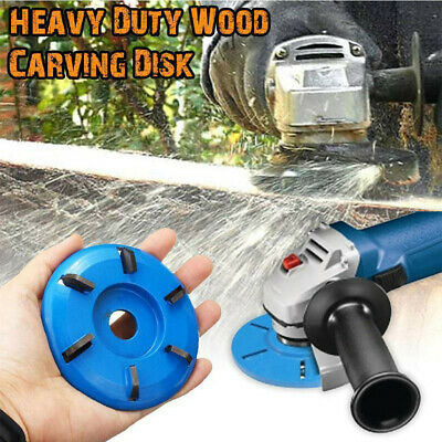 16mm Woodworking Turbo Plane For Aperture Angle Grinder Wood Carving Cutter USA