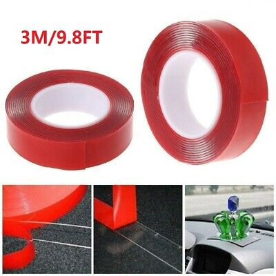 3M Double-sided Heat Resistant Adhesive Transparent Clear Tape Acrylic Tape AU