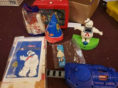 Lot of Real Ghostbusters items #2