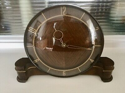 Art Deco Style 'Smiths Sectric' Mantel Clock - For  Pat Test