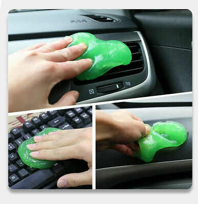 Magic Soft Sticky Schoon Lijm Slime Dust Dirt Cleaner Car Soft Cleaning U1G6