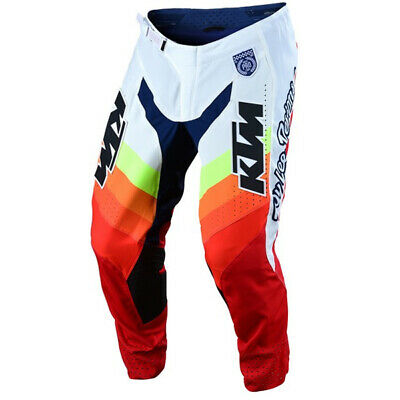 Troy Lee Designs Se Pro Ktm Mirage White Red Pants