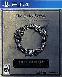The Elder Scrolls Online Gold Edition Sony Playstation 4  PS4 Brand NEW Sealed