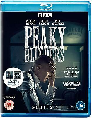 Peaky Blinders Blu Ray Series 5 Includes 2 Beer Mats Language English Brand New