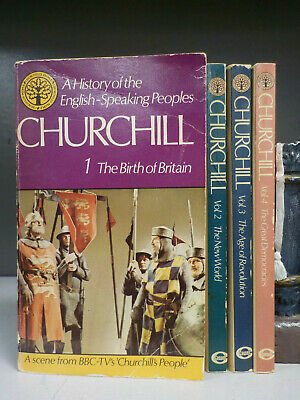 Winston Churchill - A History Of The English-Speaking Peoples - 4 Books(ID:6525)