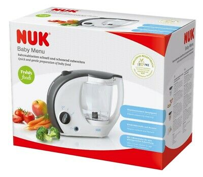 Nuk Baby Menu Quick And Gentle Preparation Of Baby Food