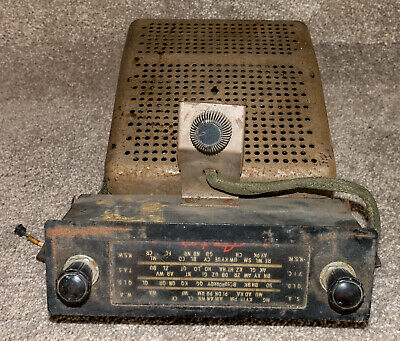 Astor Car Valve Radio - As Found