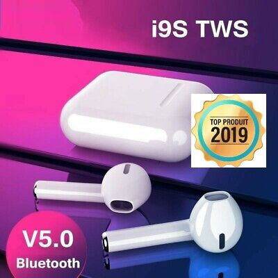 I9S TWS Airpods Ecouteurs Sans Fils Intra Auriculaire Ios Android Musique