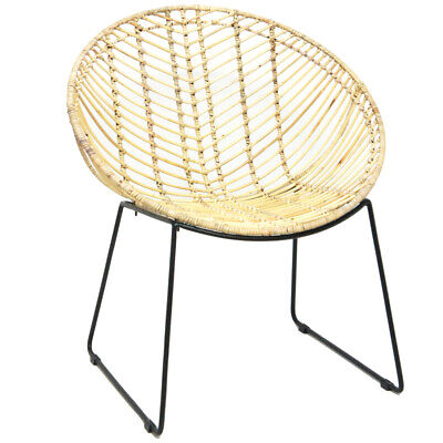 NEW Parabola Cane Chair - BanyanHome,Armchairs