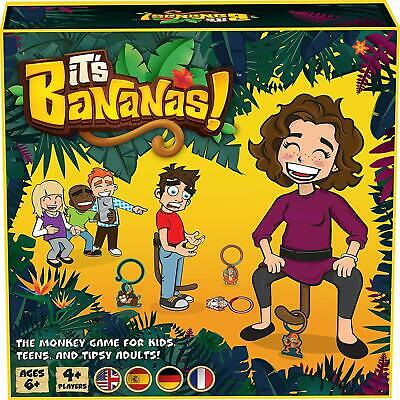 The Monkey Party Game For Kids Boys And Girls 4 Players 25.4 X 25.4 X 7.6 Cm New