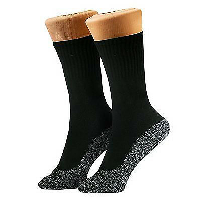 5 Pairs 35 Below Socks Keep Your Feet Warm and Dry Thin Black-L