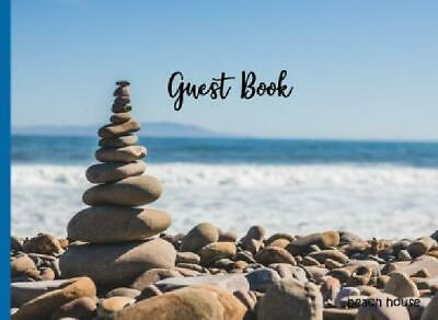Guest Book: Nautical Guest Book, Visitors Book, Guest Comments Book, Vacation Ho
