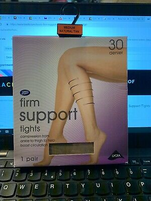TWO PACKS Factor 10 BNIB Firm Support Tights  John Lewis  Navy Size Small