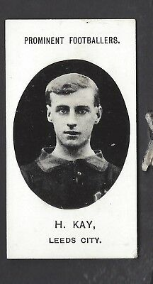 Taddy - Prominent Footballers (No Footnote) - H Kay, Leeds City