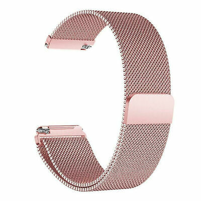 For Fitbit Versa 2 Metal Milanese Magnetic Loop Strap Stainless Steel Wrist Band