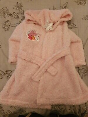 Peppa Pig Dressing Gown 18-24 Months George
