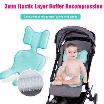 Baby Stroller Cool Soft Breathable Mat Universal Dining Chair Car Seat Cushion